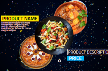 4K Restaurant Product Promo - Download Videohive 19509987
