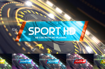6 in1 Multi-Sport Intro Pack - Download Videohive 19968949