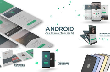 Android App Promo Mock-Up Kit - Download Videohive 20042116