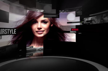 Curved Screen - Download Videohive 19319657