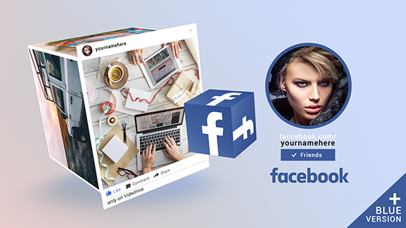 Facebook Promo Cube Gallery - Download Videohive 19499656