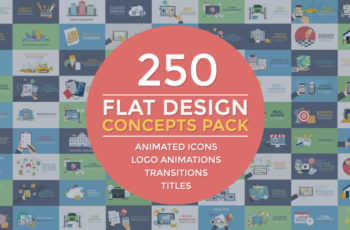 Flat Design Concepts Pack - Download Videohive 20078921