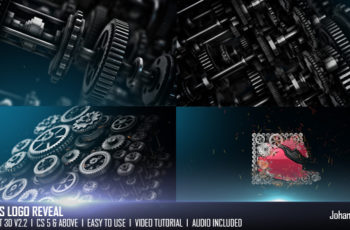 Gears Logo Reveal - Download Videohive 20264214