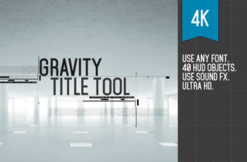 Gravity Title Tool - Download Videohive 19270965