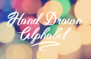 Hand Drawn Alphabet - Download Videohive 19244875