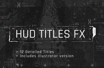 HUD Titles FX - Download Videohive 20177970