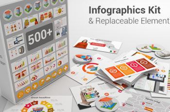 Infographics Kit & Replaceable Elements - Download Videohive 20336599