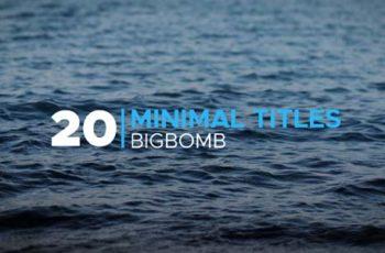 Minimal Titles - Download Videohive 20190986