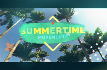 Summertime Movements - Bright Opener - Download Videohive 20286763