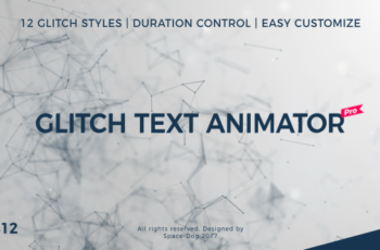 Glitch Text Animator PRO - Download Videohive 20591425
