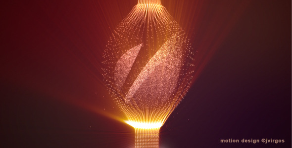 Shiny Logo With Elegant Fine Particles - Download Videohive 2332405