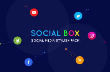 SocialBox - Social Media Intro and Outro for Social Media Links Promotion - Download Videohive 20534548