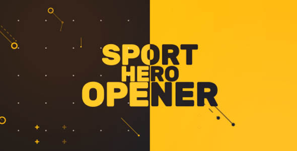 Sport Hero Opener - Download Videohive 20254823