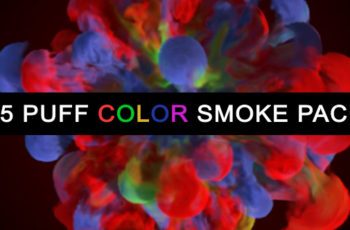 15 Puff Color Smoke Pack - Download Videohive 20403442