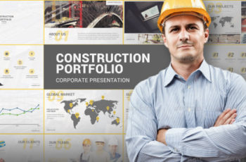 Construction Portfolio Template - Download Videohive 12238910