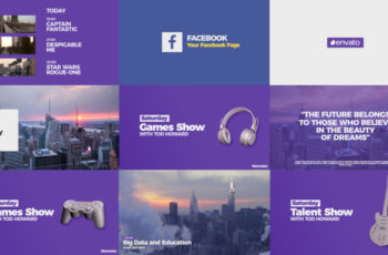 Modern Broadcast Pack - Download Videohive 20488320