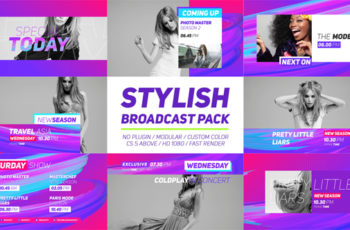Stylish Broadcast Pack - Download Videohive 19749725