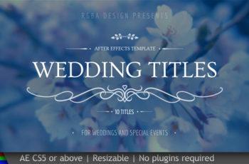 Wedding Titles - Download Videohive 20439562