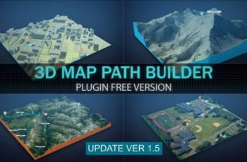3D Map Path Builder - Download Videohive 20788566