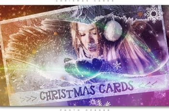 Christmas Cards Photo Opener - Download Videohive 20908489