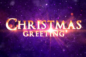 Christmas Greeting Titles - Download Videohive 20921766