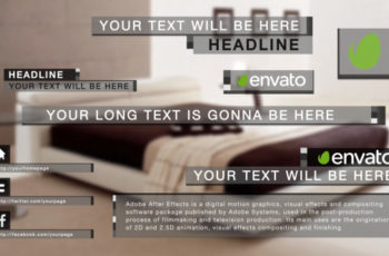 Classic Lower Third - Download Videohive 6071774