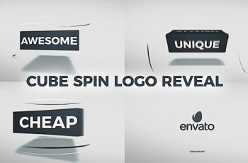 Cube Spin Logo Reveal - Download Videohive 20925658