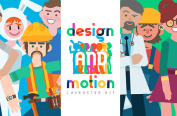 Design and Motion Character Kit - Download Videohive 20838034