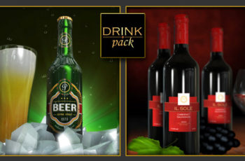 Drink Pack 2-in-1 - Download Videohive 5655063