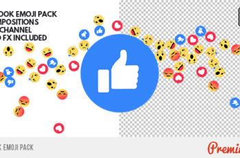 Facebook Emoji Pack - Download Videohive 19652886