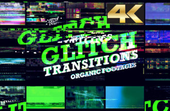 Glitch Transition 4K - Download Videohive 20756178