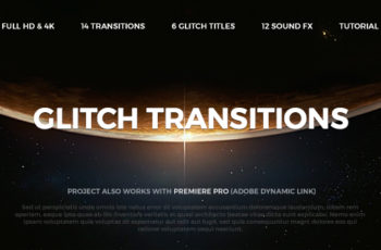 Glitch Transitions - Download Videohive 20479670