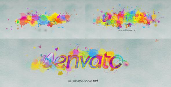 Logo Revealer Paint Drops Design - Download Videohive 3318308