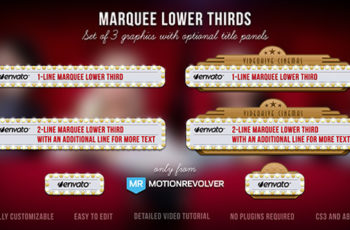 Marquee Lower Thirds - Download Videohive 5211013
