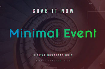 Minimal Event - Download Videohive 19910718