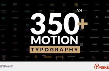Motion Typography - Download Videohive 20645019