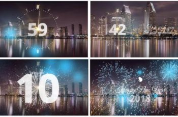 Silver New Year Countdown 2018 - Download Videohive 20881545