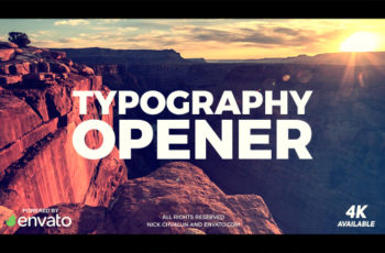 Typography Opener - Download Videohive 20836352