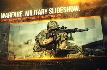 Warfare. Military Slideshow - Download Videohive 20949834