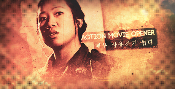Action Movie Opener - Download Videohive 20791059