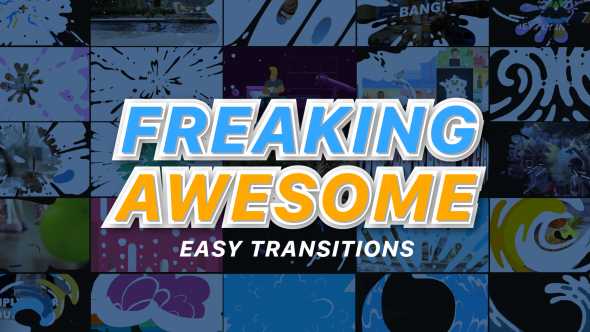 Freaking Awesome Transitions - Download Videohive 19527319