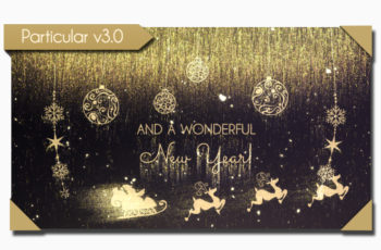 Golden Christmas Wishes - Download Videohive 21033444