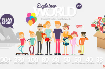 Explainer World Video Toolkit Library - Download Videohive 21021730