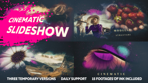 Ink Slideshow Presentation - Download Videohive 20849687