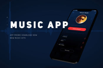 Music App Promo Presentation - Download Videohive 21129693
