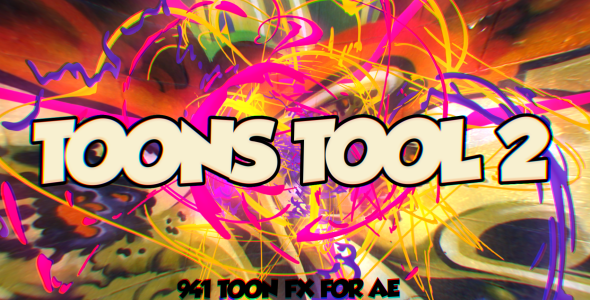 Toons Tool 2 (FX Kit) - Download Videohive 21110258