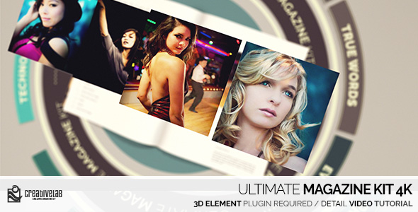 Ultimate Magazine Kit 4K - Download Videohive 19817206