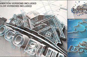 3D Logo Build - Download Videohive 20983506