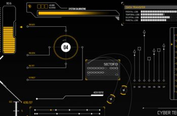 HUD Infographic Elements - Download Videohive 8804752
