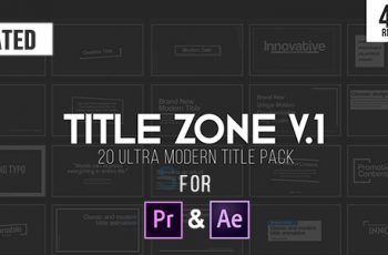 Title Zone V.1 - Download Videohive 20987758